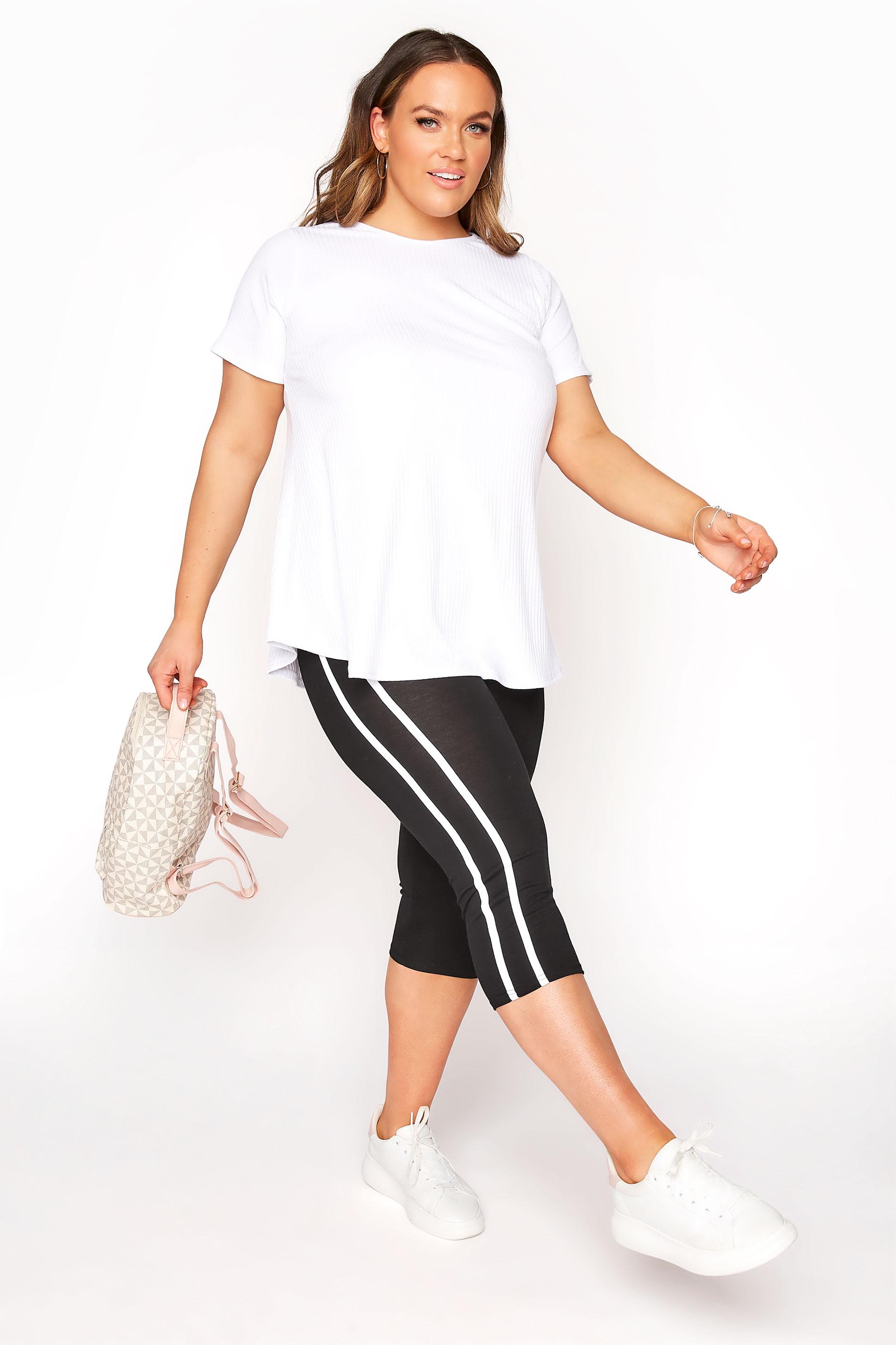 Black Side Stripe Cropped Leggings_A.jpg