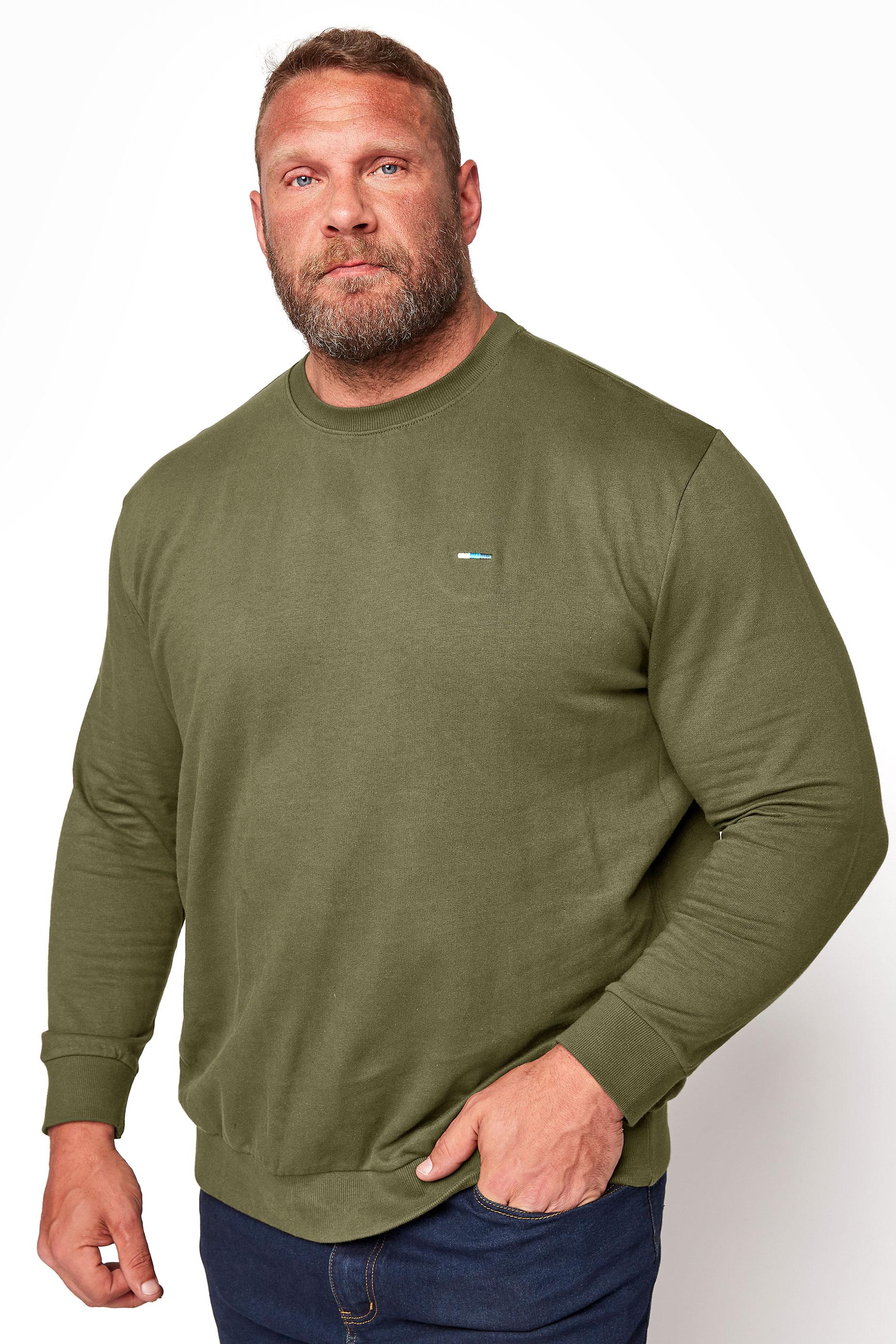 BadRhino Khaki Essential Sweatshirt_M.jpg