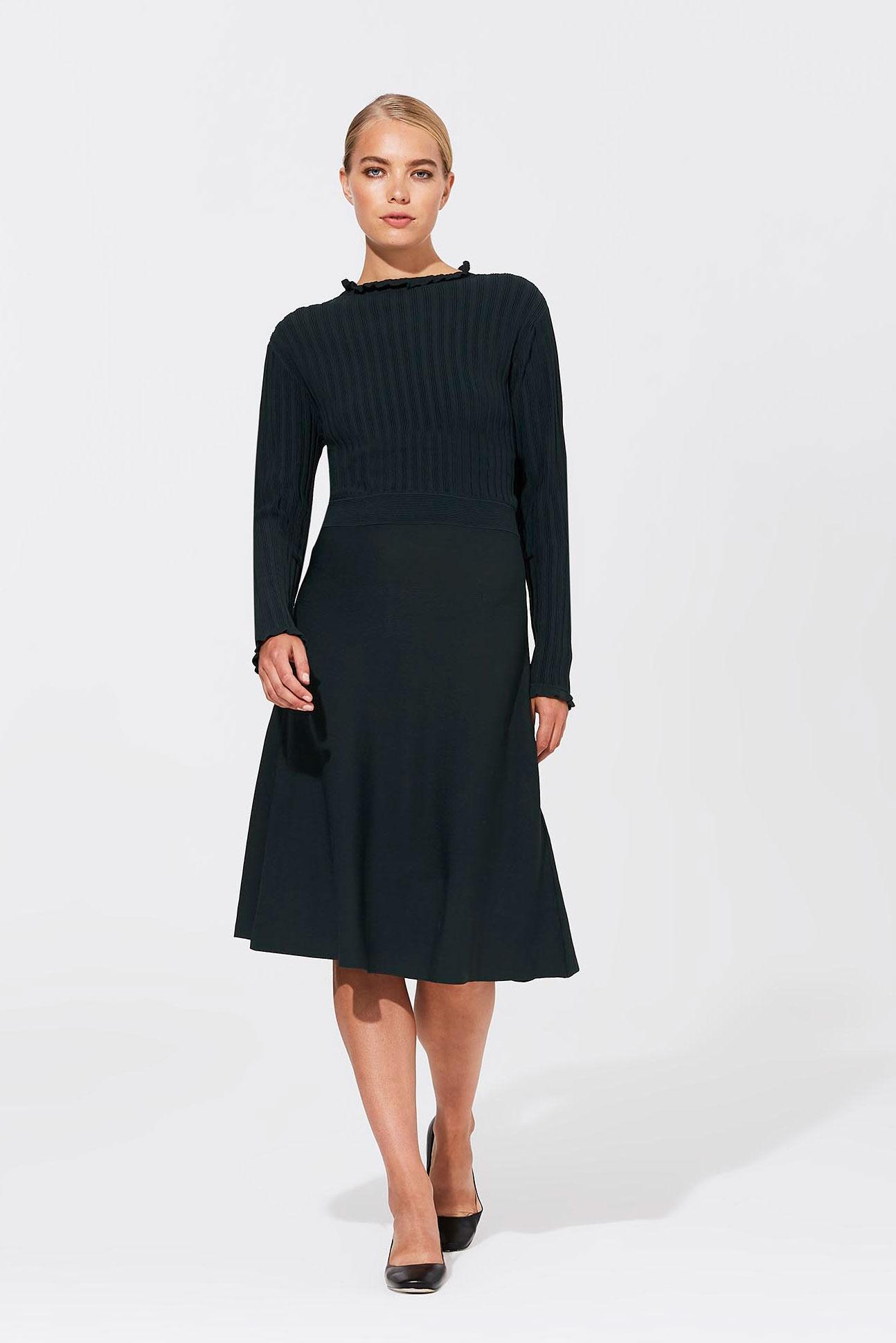 Karl Lagerfeld Paris Rib Sweater Dress