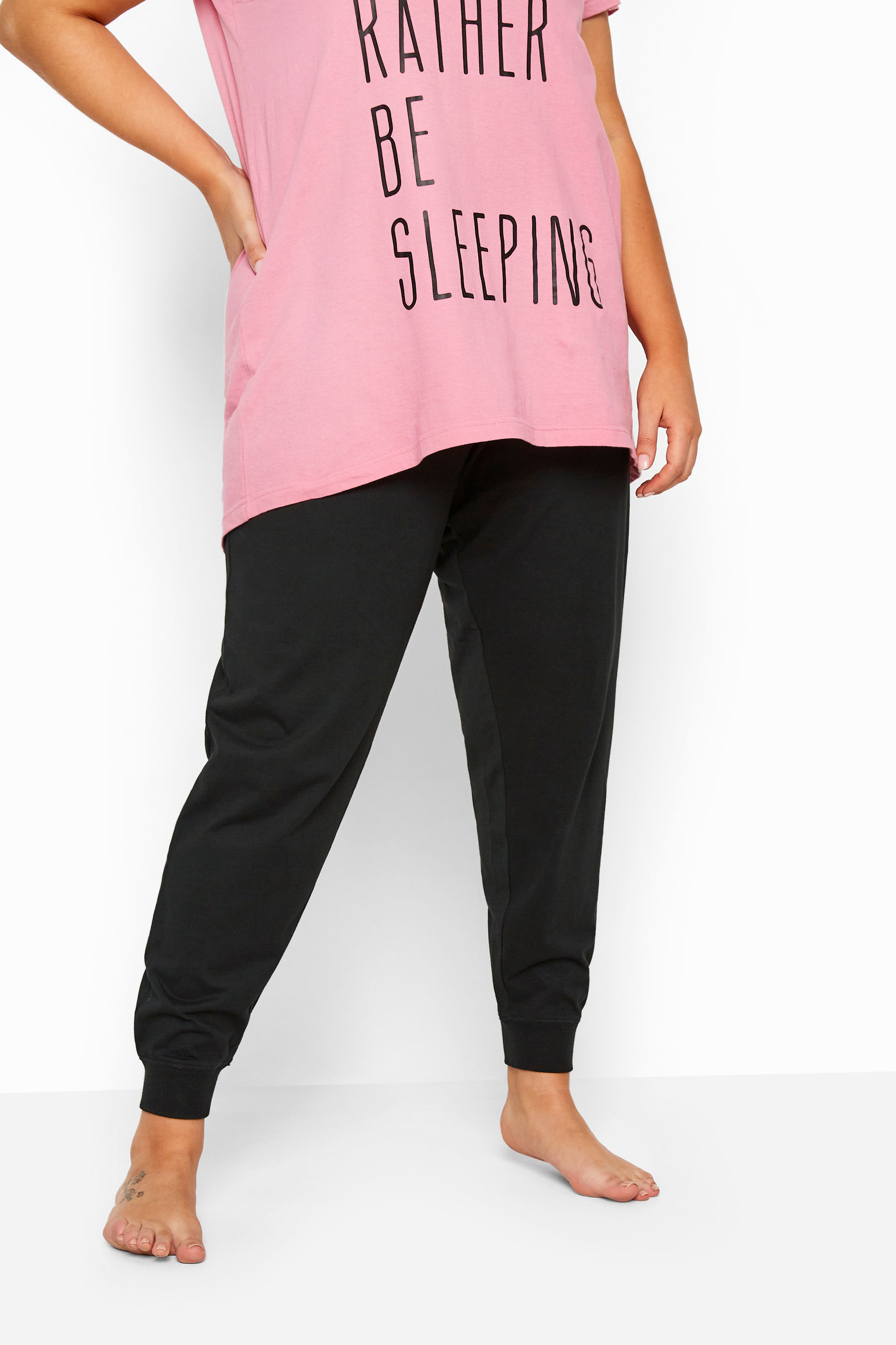 Black Cuffed Pyjama Bottoms_148481B.jpg