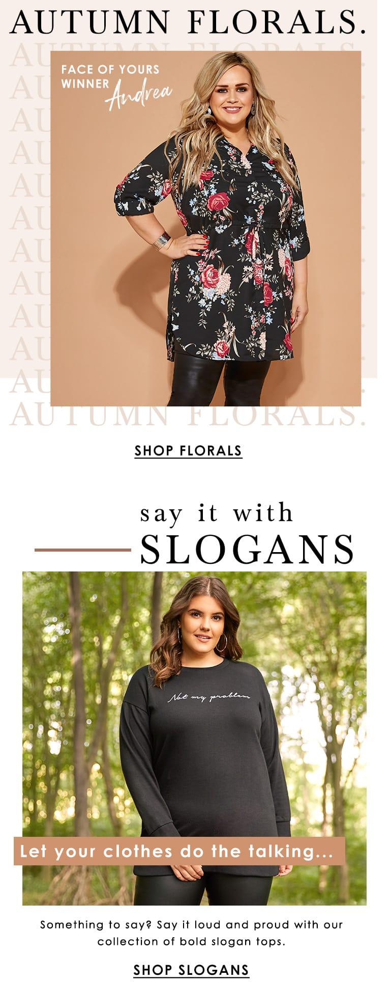 Autumn Florals - SLogans