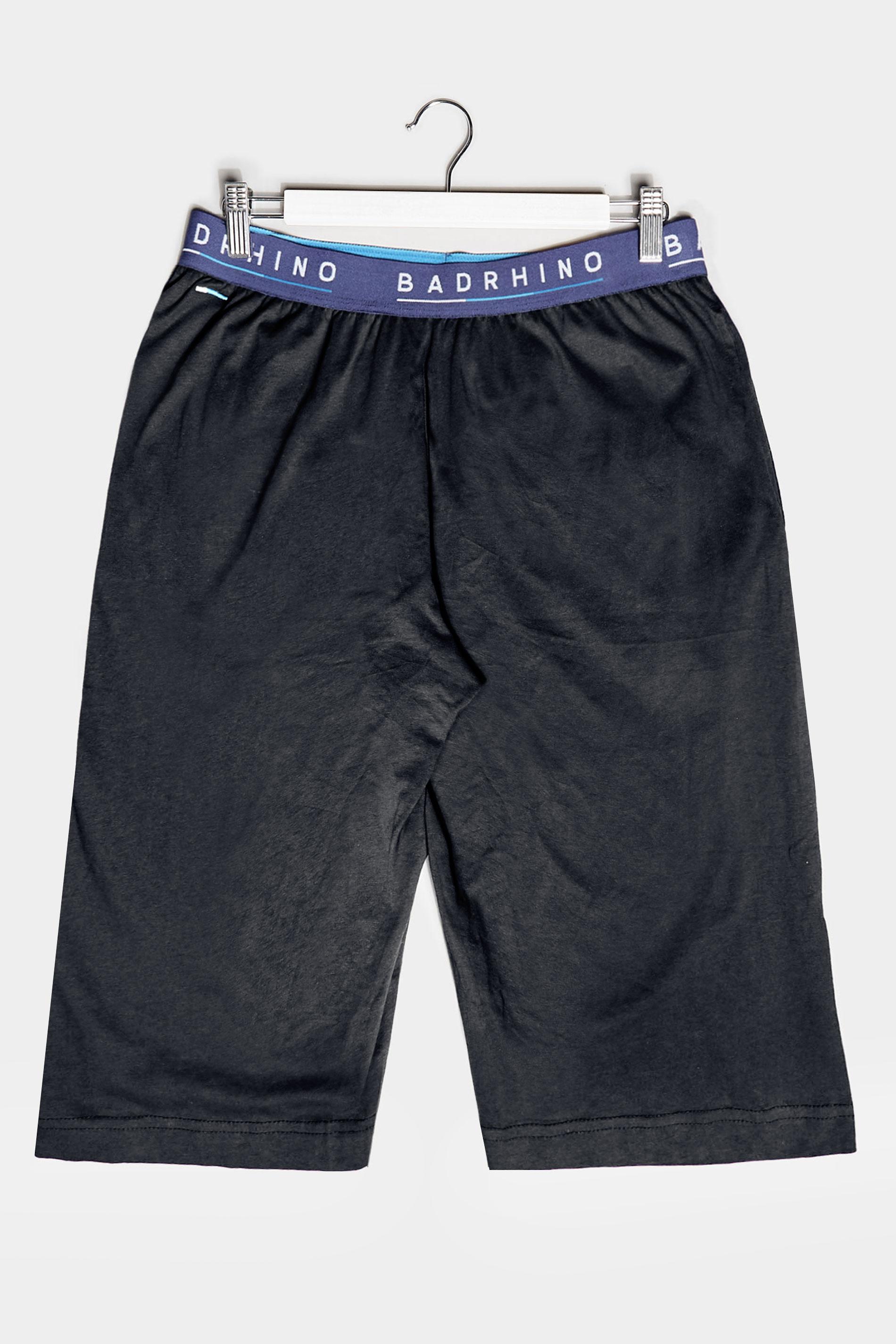 BadRhino Black Essential Lounge Shorts