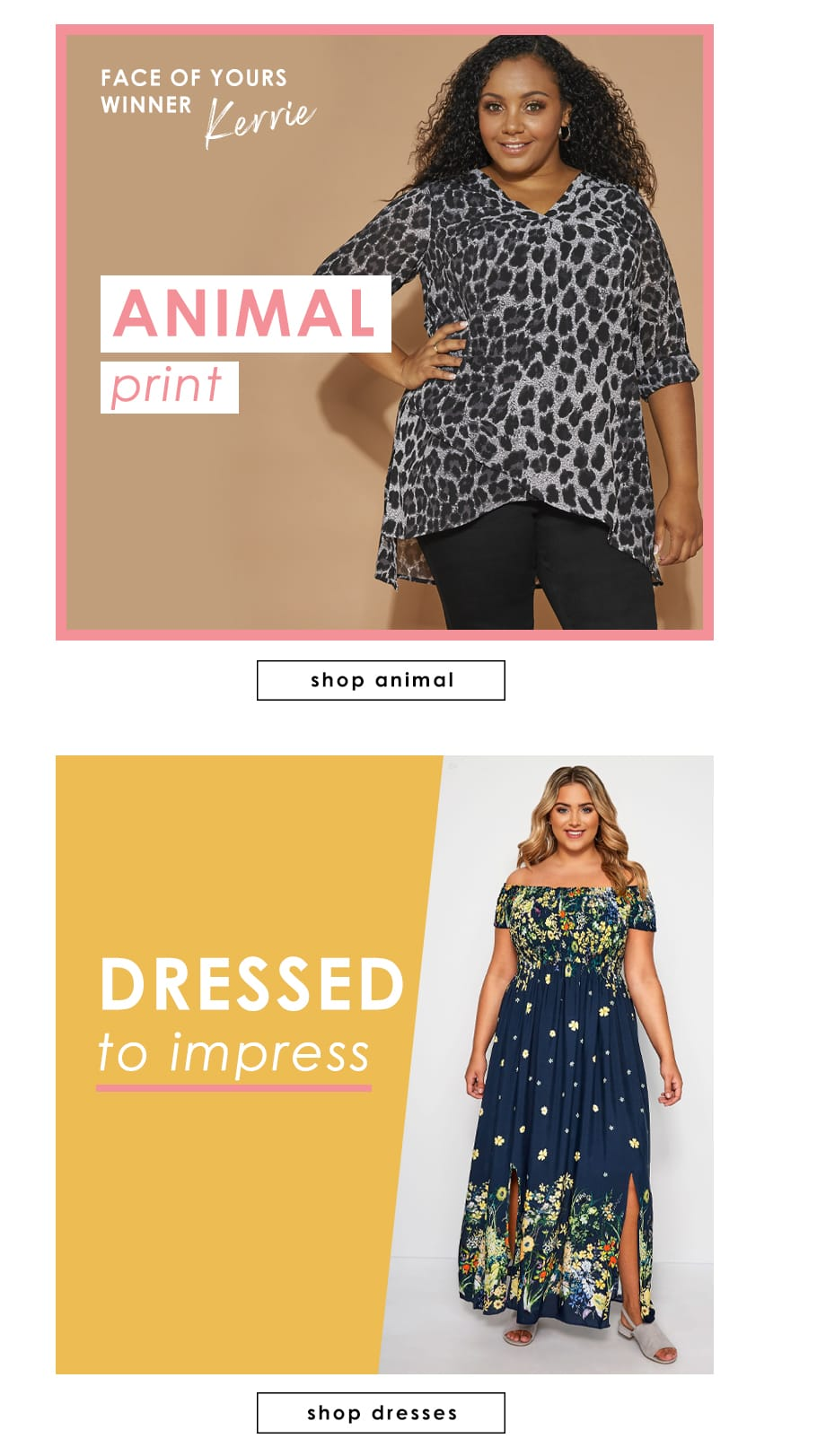 Animal & Dresses