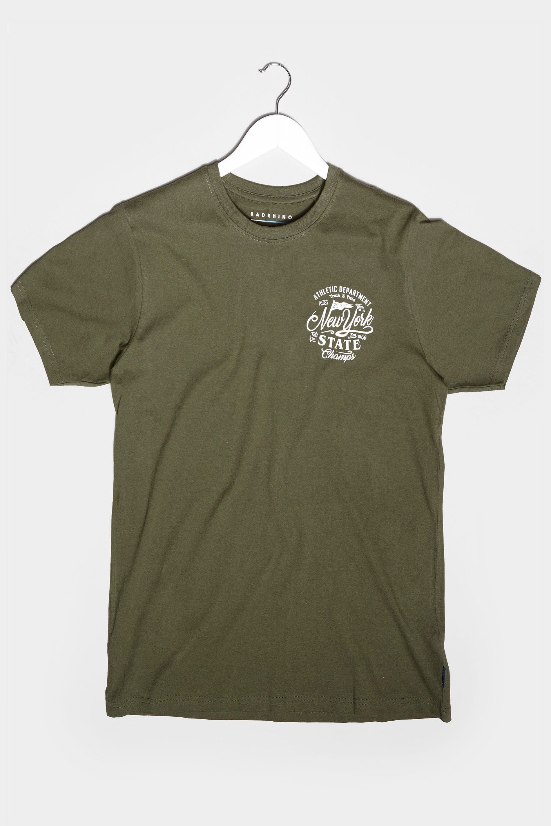 BadRhino Khaki New York Champs T-Shirt