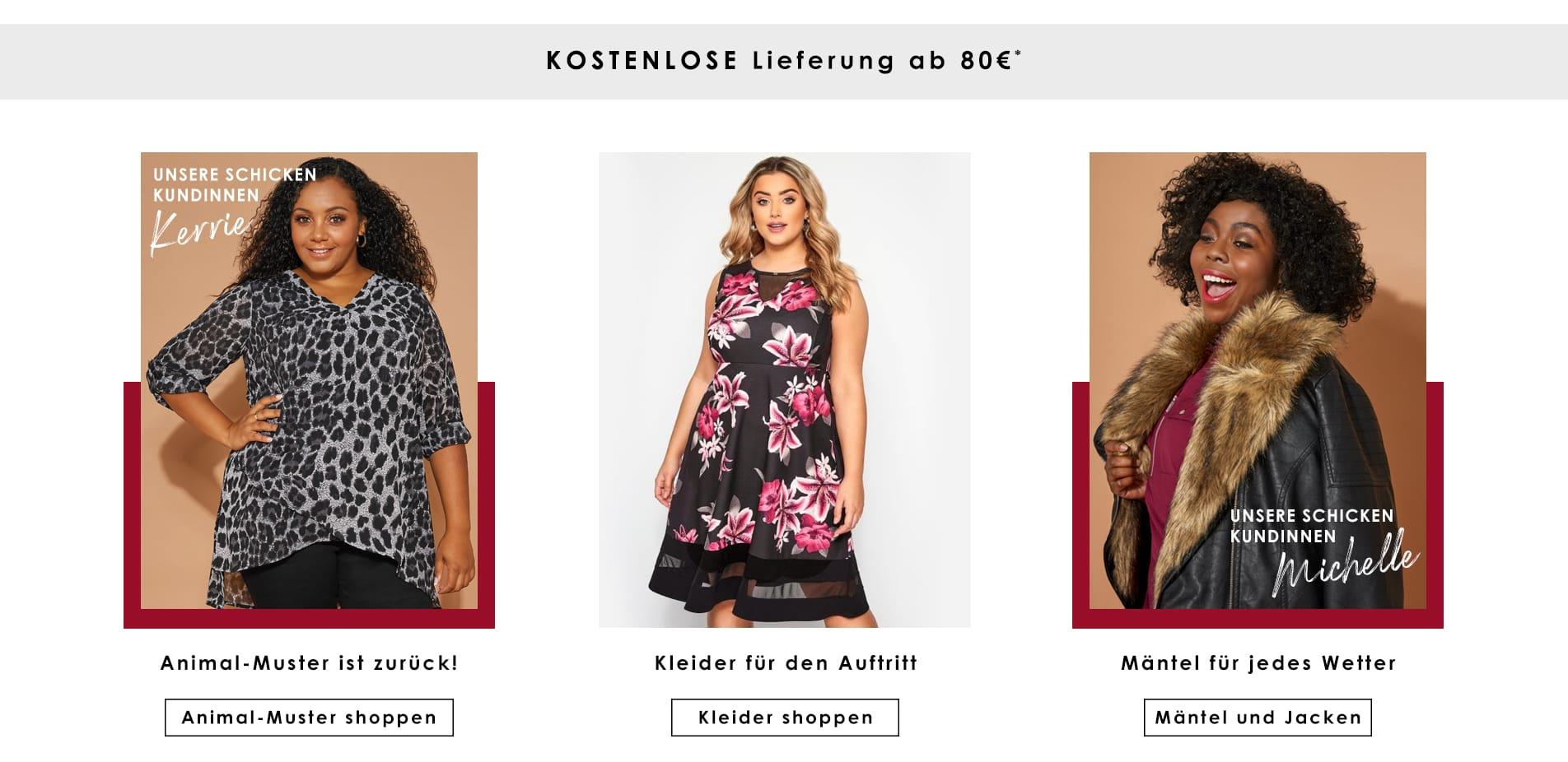 best website 3fc9e eb123 Große Größen Damenmode | Plus Size Mode für Mollige | Yours ...