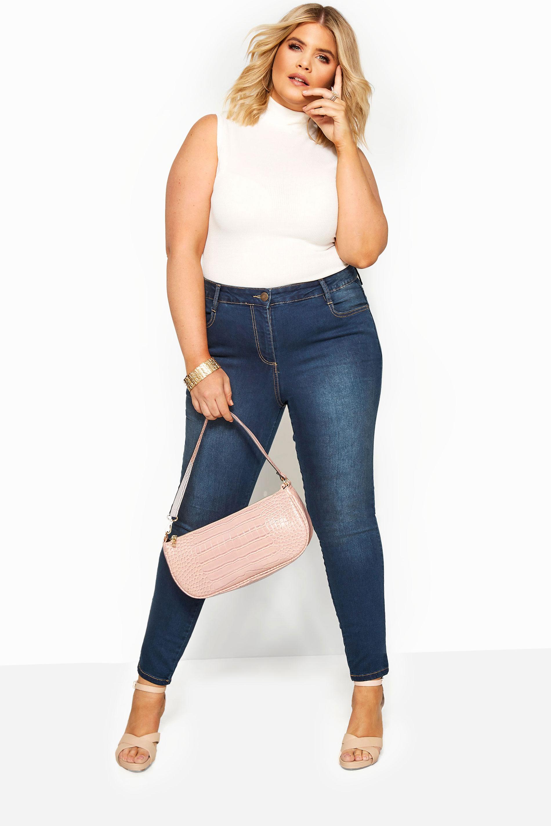 Indigo Blue Skinny Stretch AVA Jeans