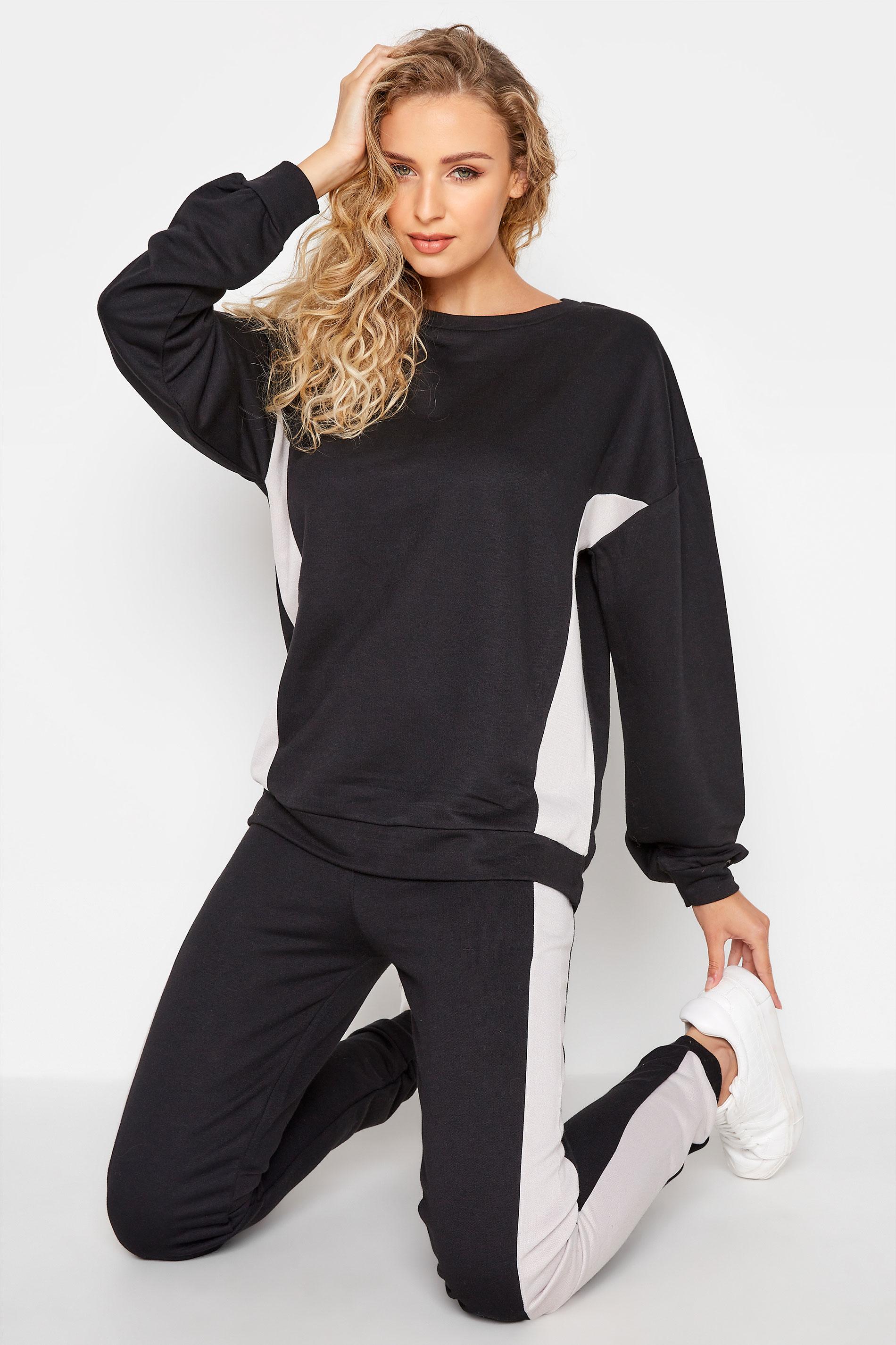 LTS Black Colour Block Sweatshirt_A.jpg