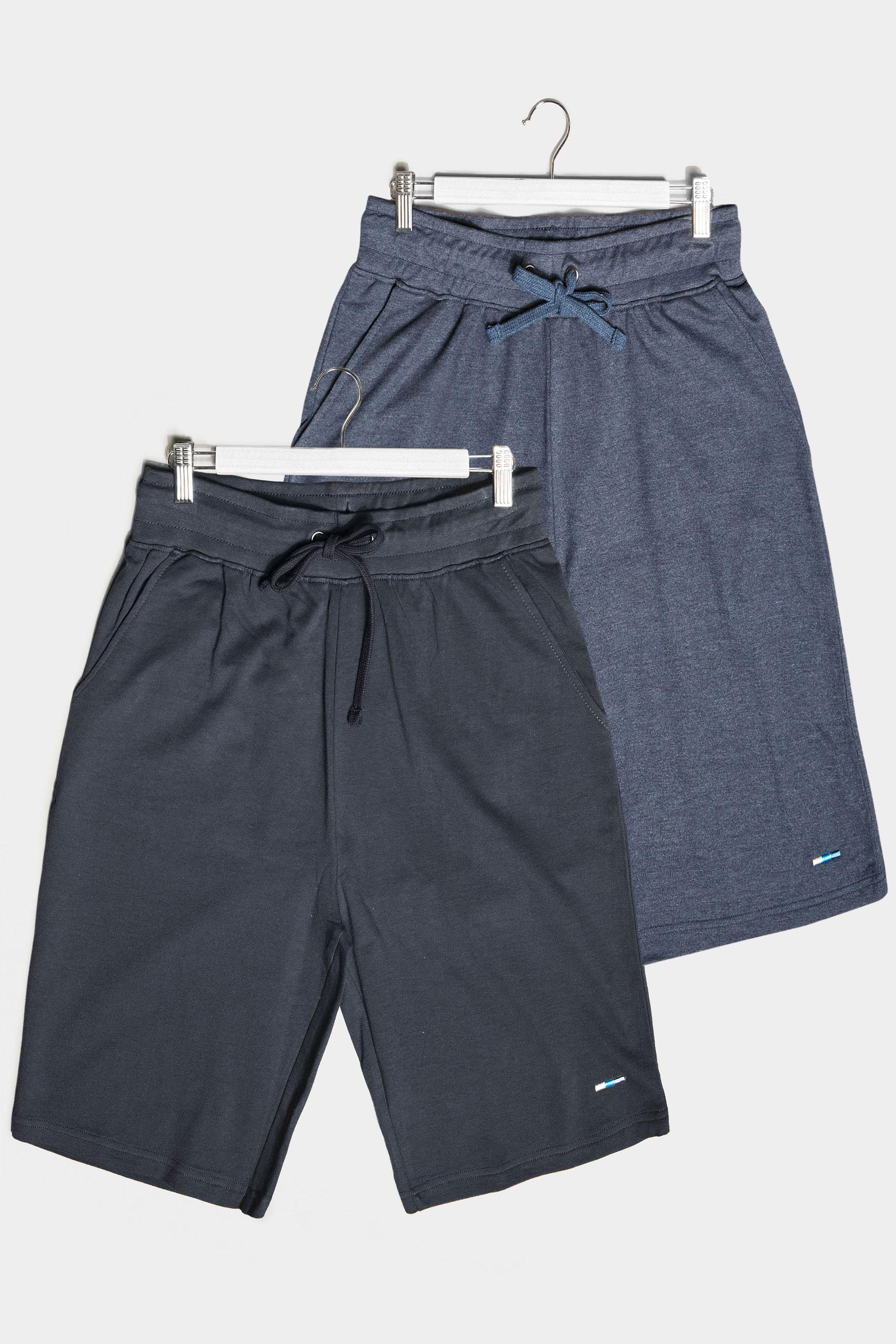 BadRhino Multi 2 Pack Jersey Shorts