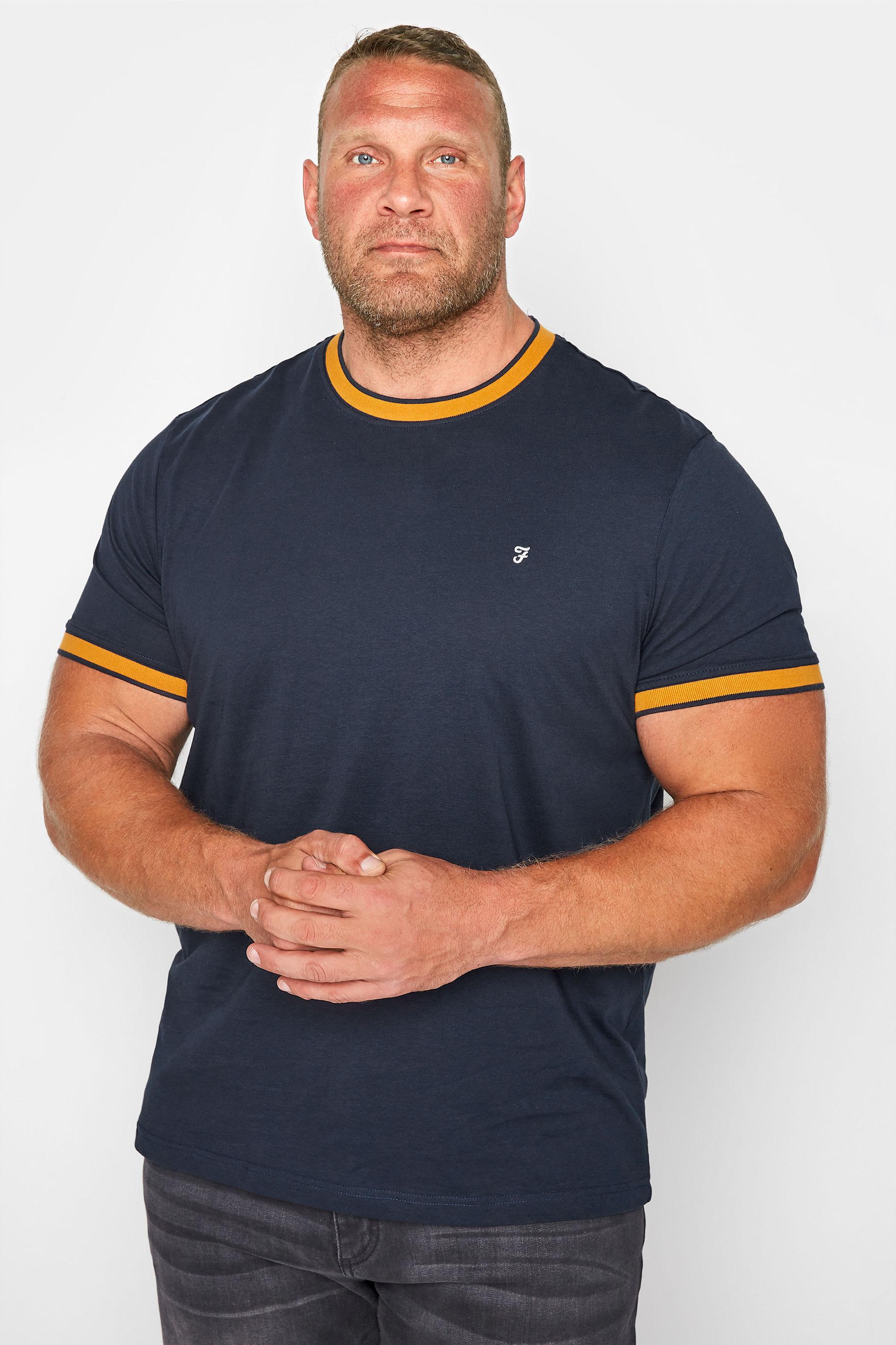 FARAH Navy Spruce T-Shirt_M.jpg