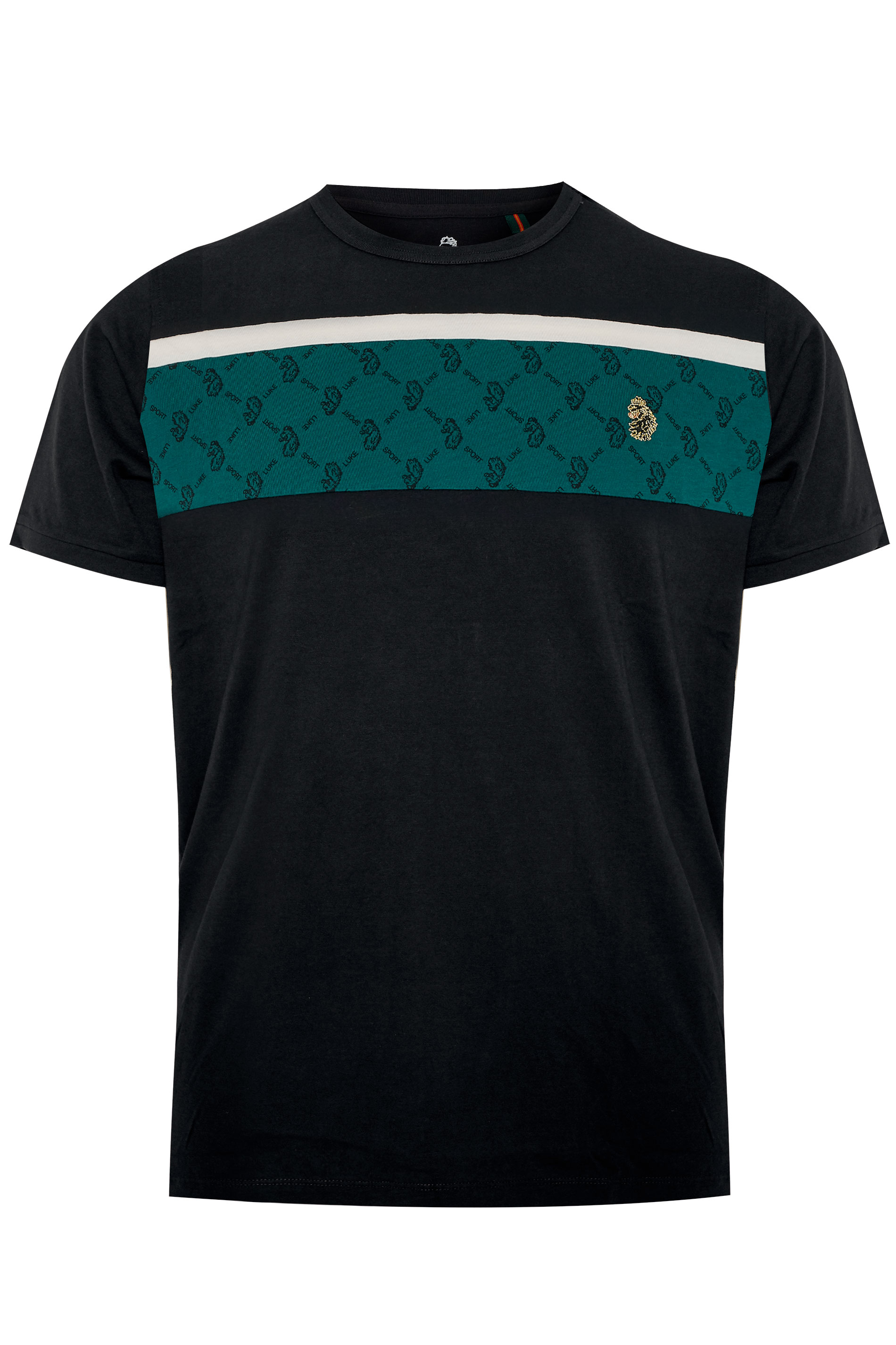 LUKE 1977 - Sport Lions t-shirt van katoen in zwart