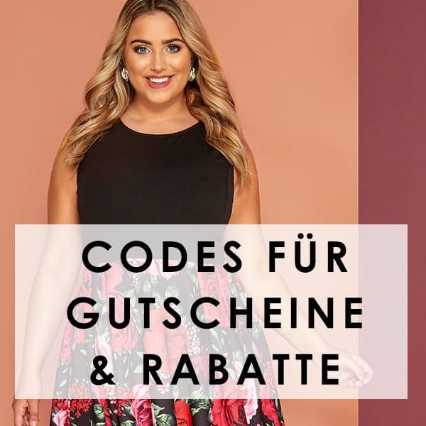 Codes für Gutscheine & Rabatte