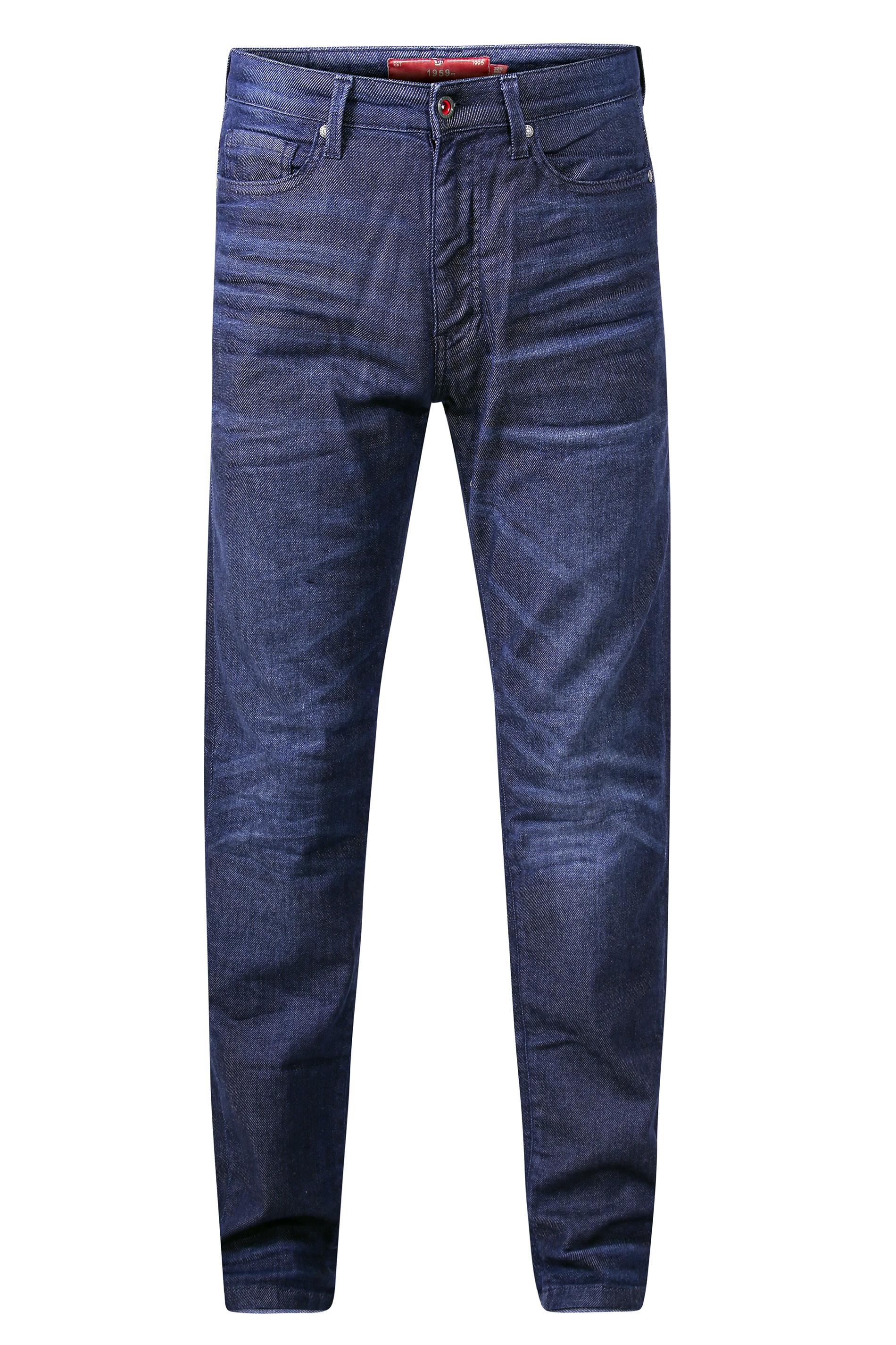 D555 Dark 1959 Straight Leg Stretch Jeans