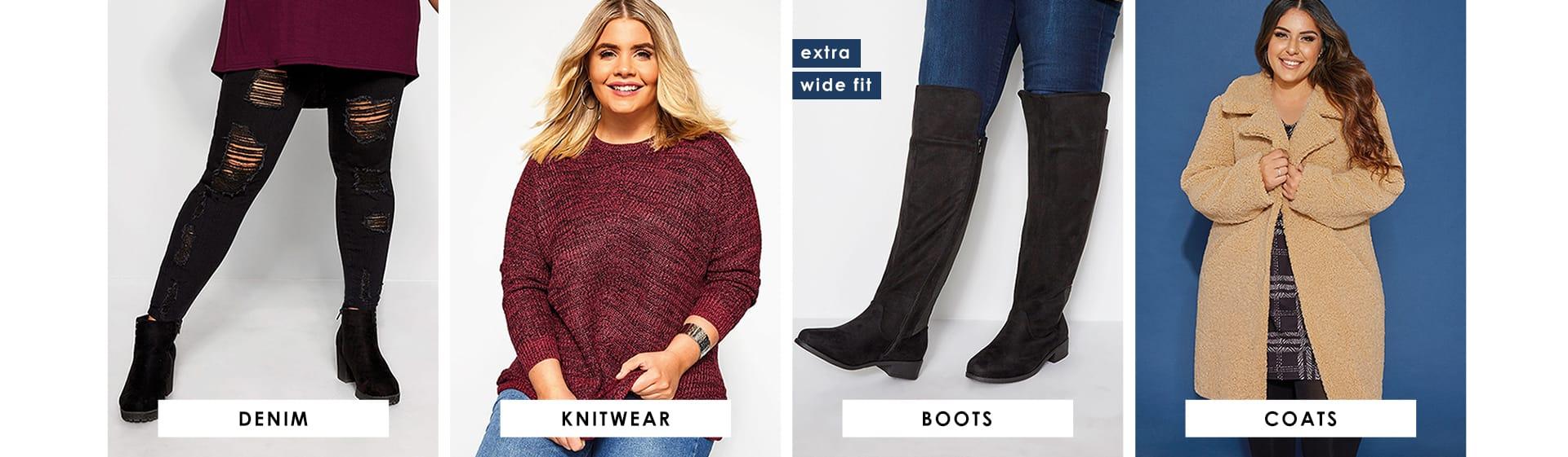 Denim - Knits - Boots- Coats