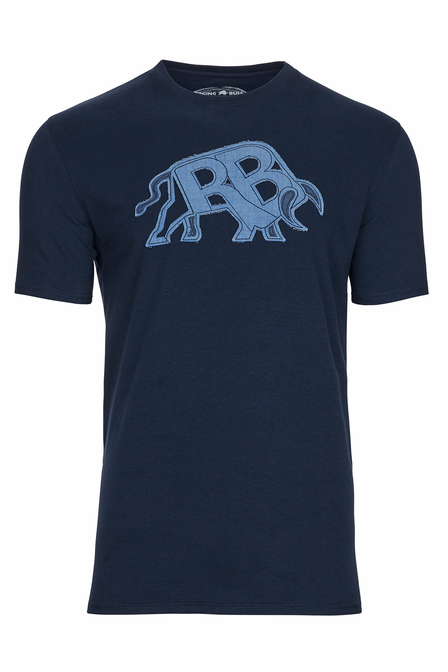 RAGING BULL Navy T-Shirt_F.jpg