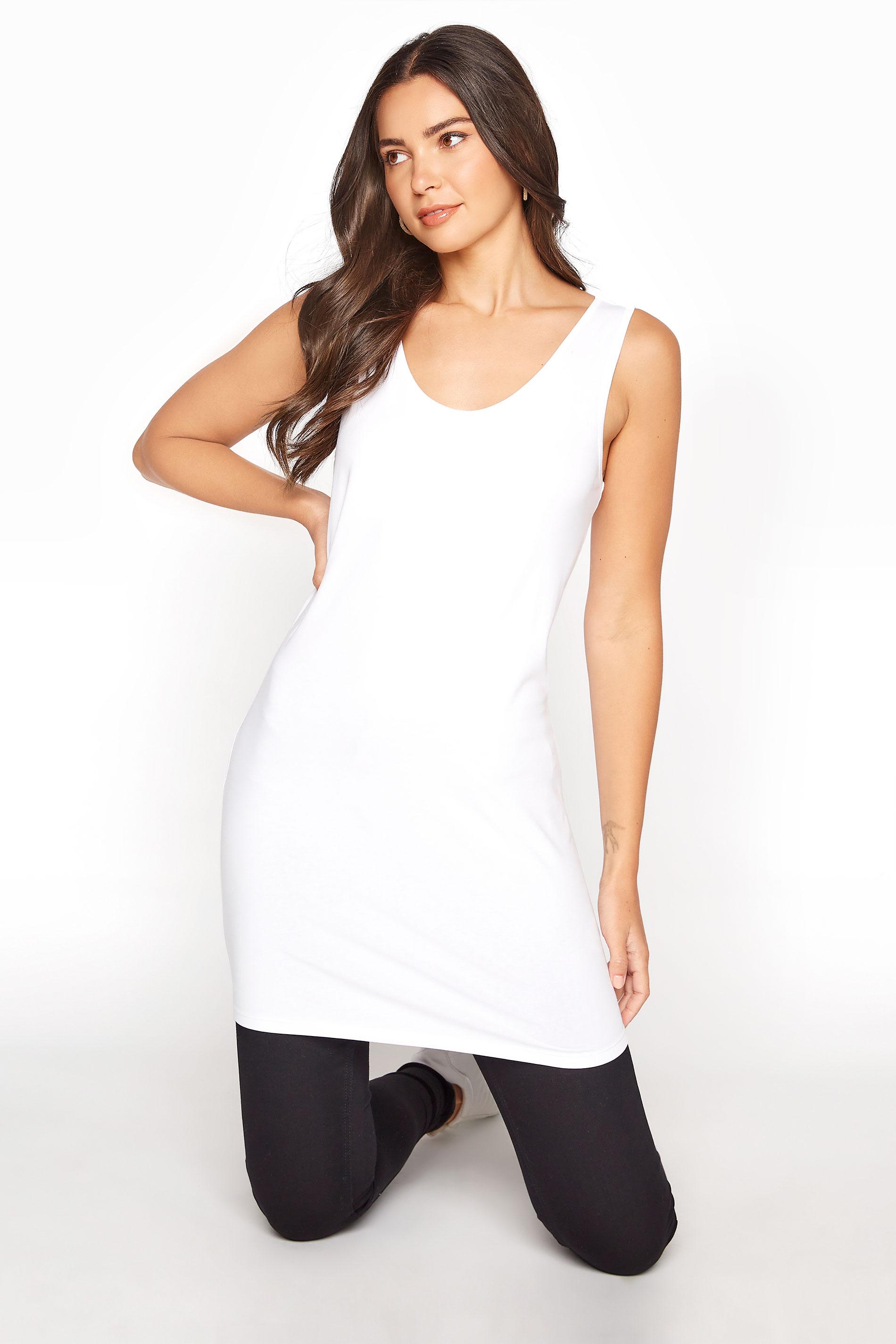 White Cotton Longline Vest Top_A.jpg