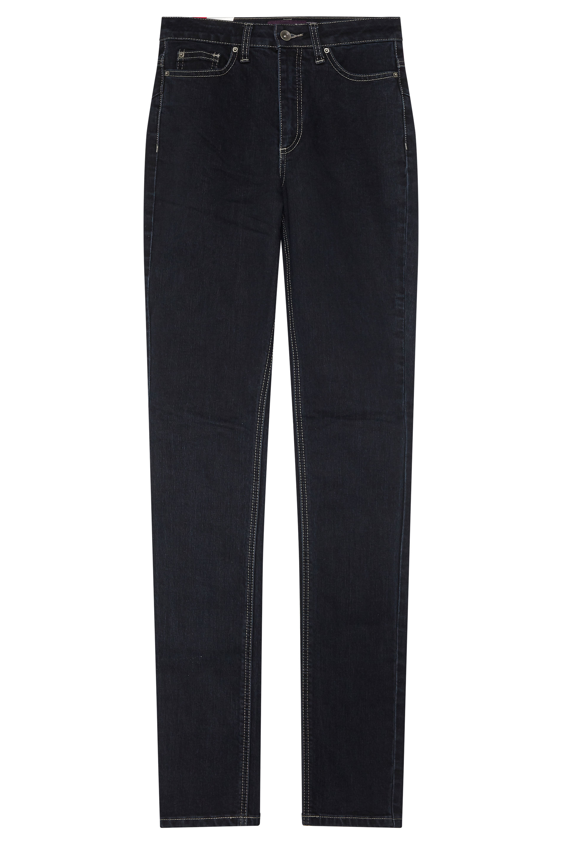 Dark Indigo Straight Leg Jeans