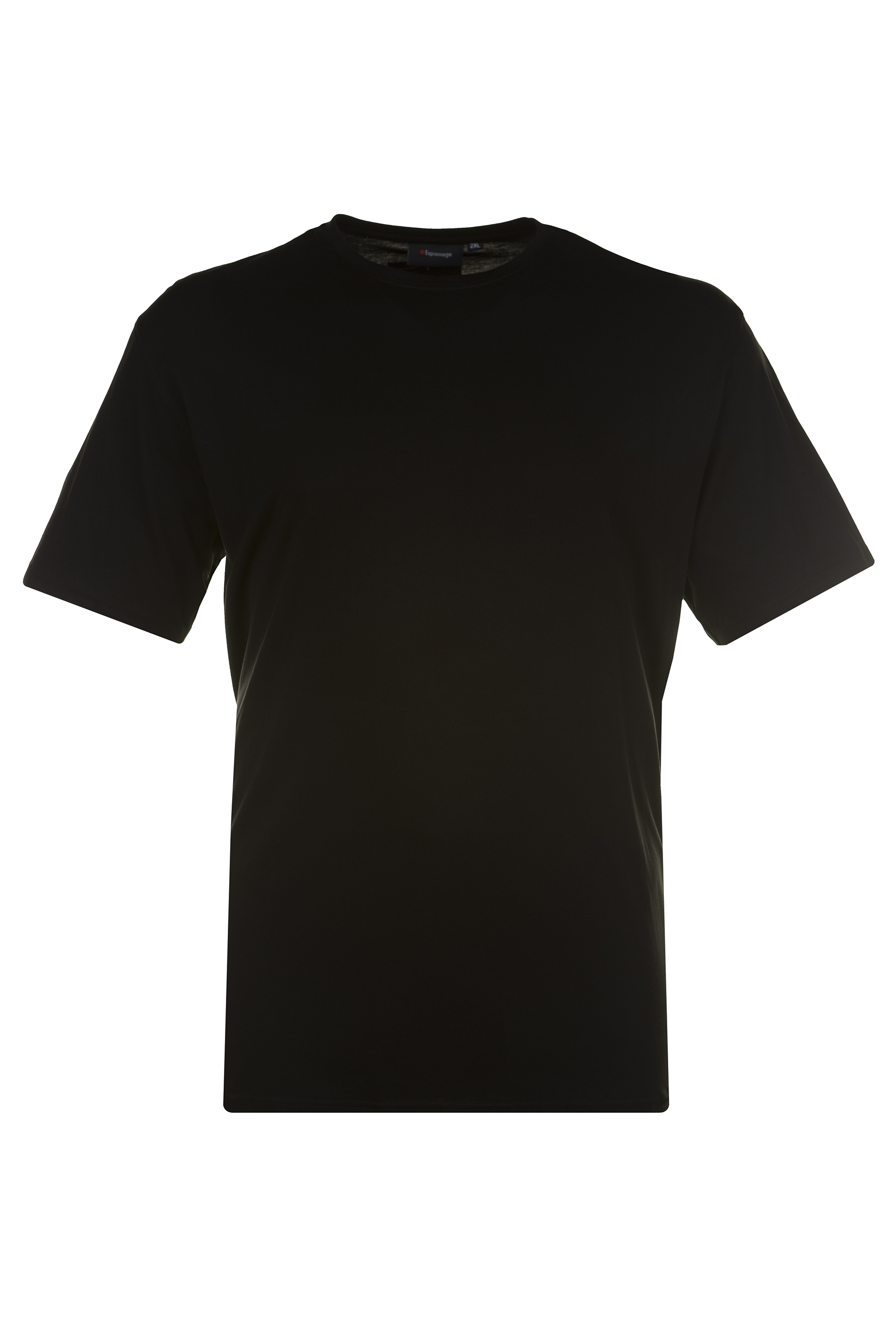 ESPIONAGE Black Basic T-Shirt