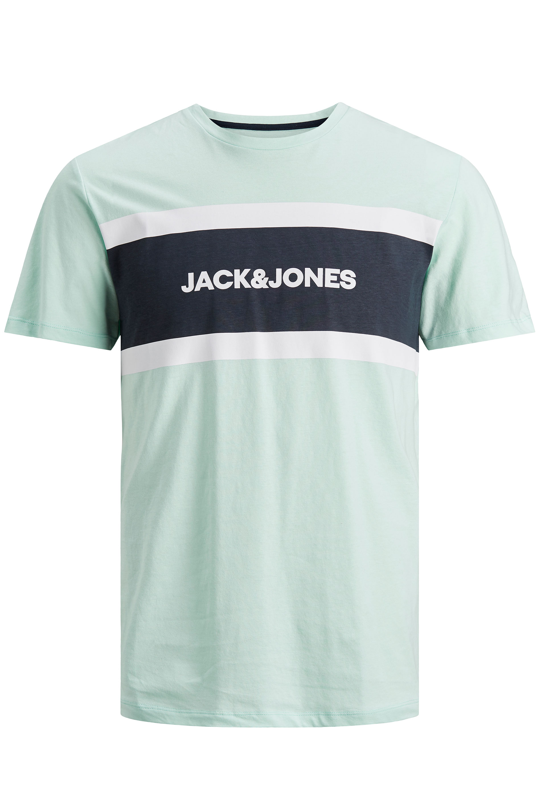 JACK & JONES Green Shaker T-Shirt