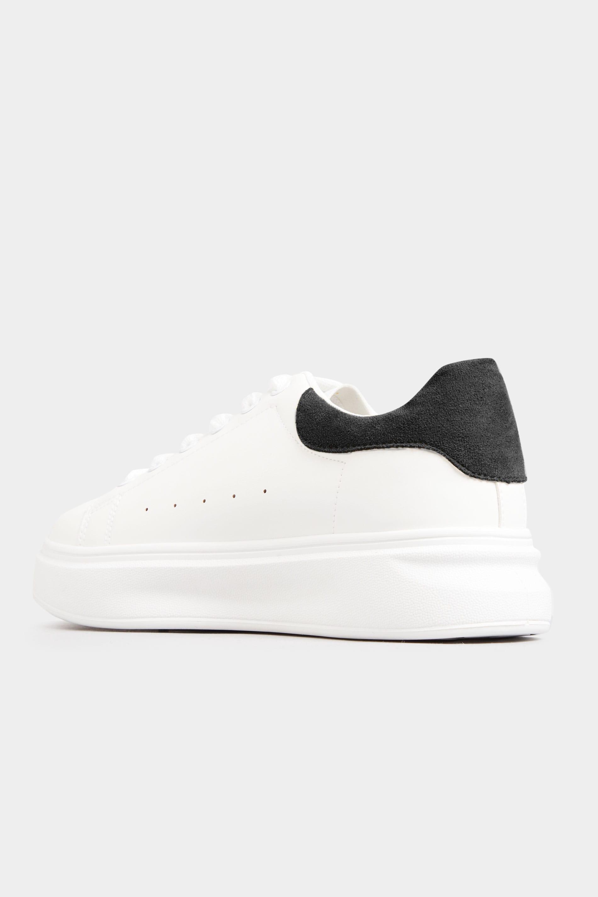 LIMITED COLLECTION Buty sportowe białe z czarnym brzegiem