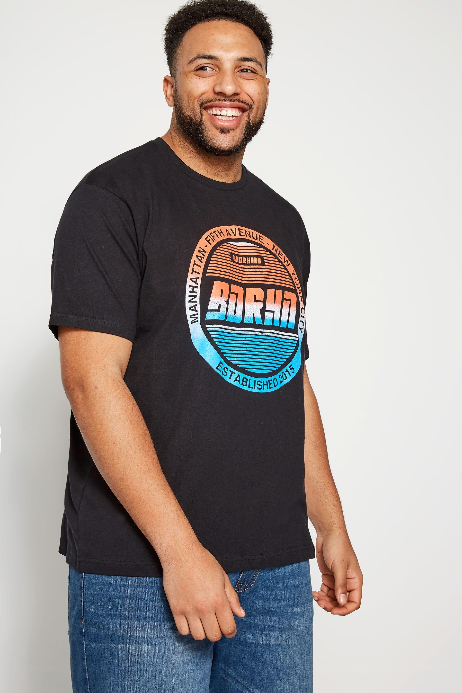 BadRhino Black 'Manhattan' T-Shirt