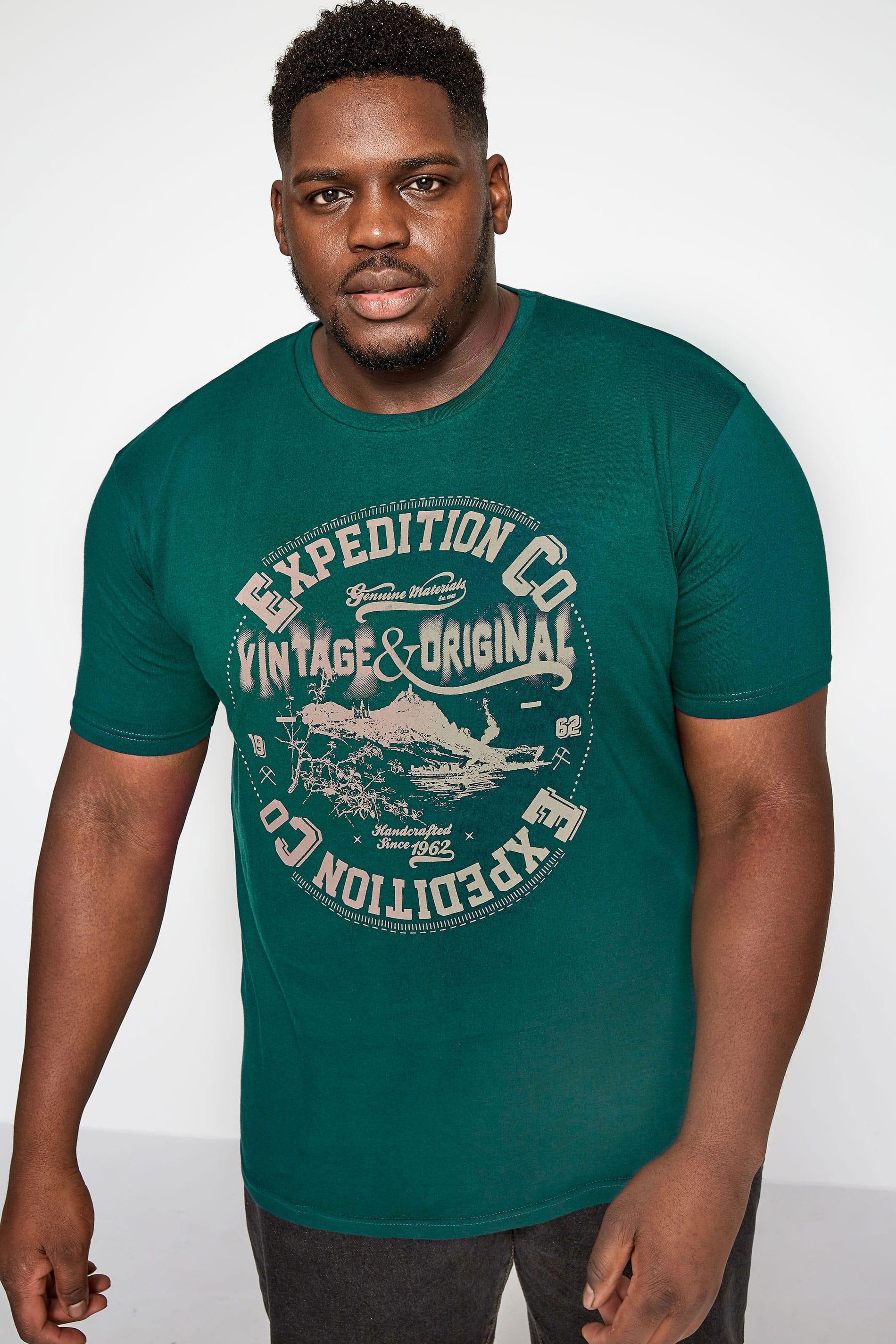 BadRhino Green 'Expedition' Graphic T-Shirt