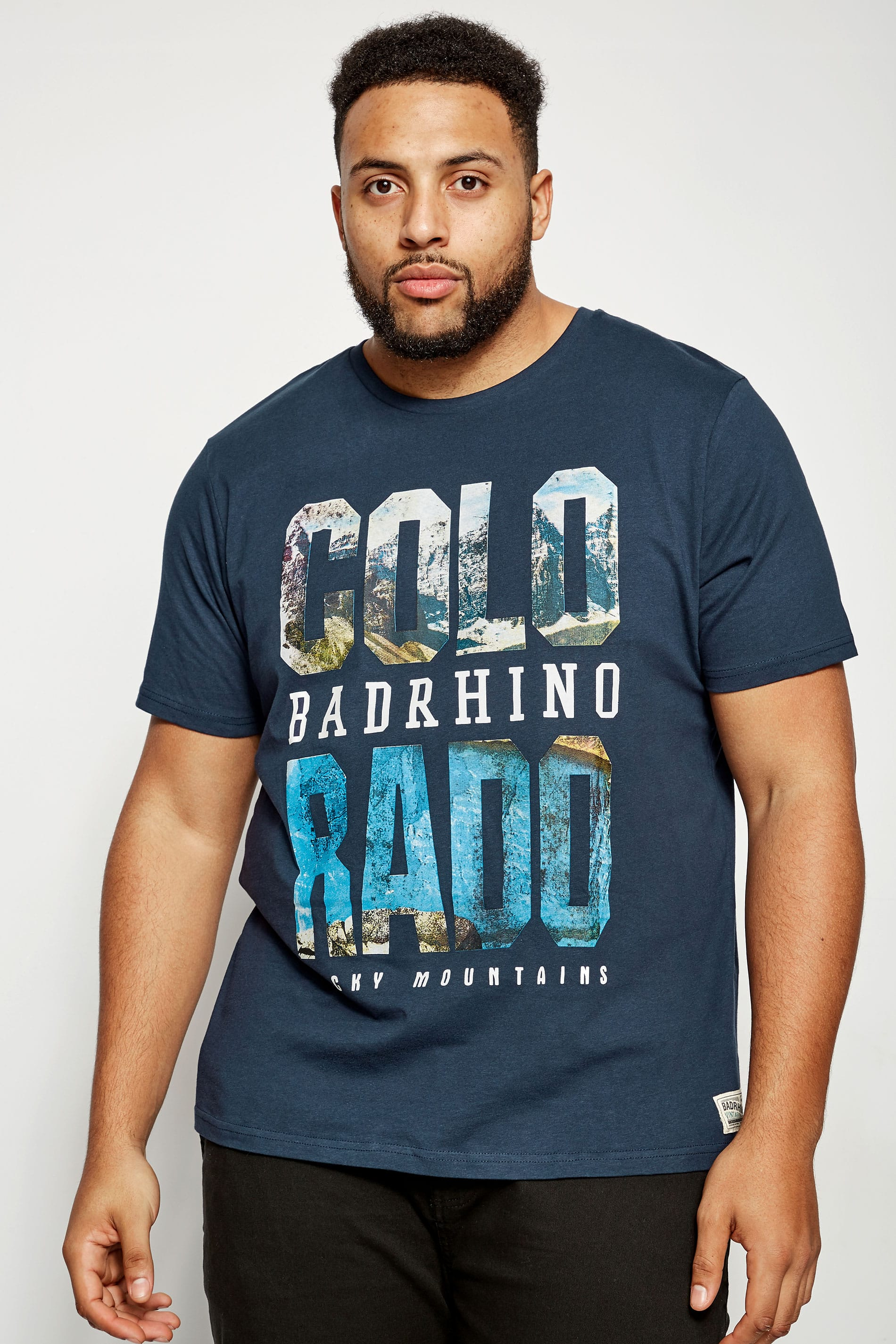 BadRhino Navy 'Colorado' T-Shirt