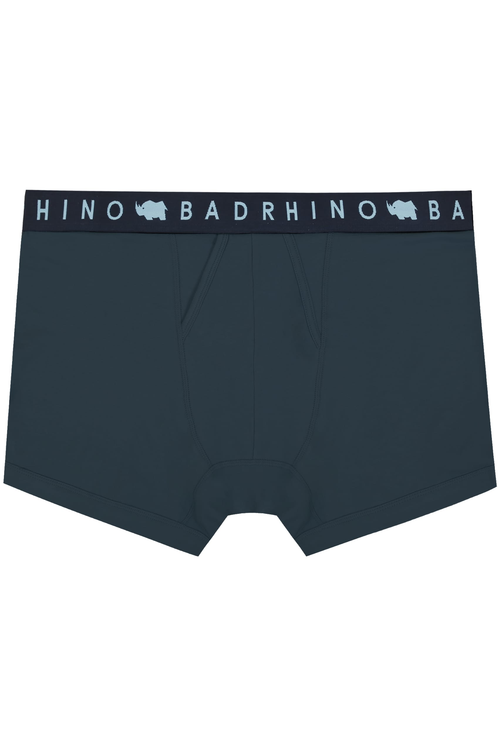 BadRhino Navy Elasticated A Front Boxers