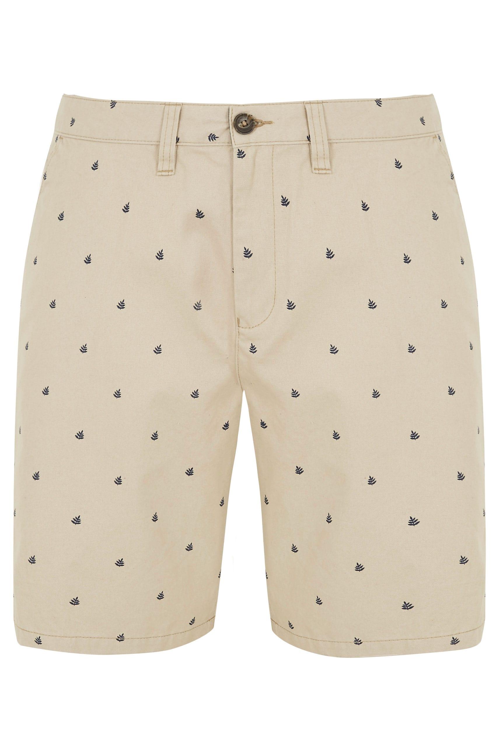 BadRhino Stone Printed Chino Shorts