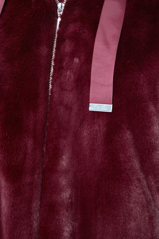 Burgundy Faux Fur Oversized Jacket_S.jpg