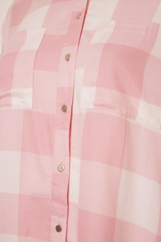 Pink Check Oversized Shirt_S.jpg