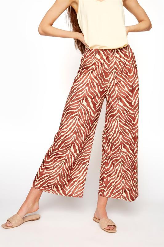 LTS Rust Zebra Print Wide Leg Culottes_B.jpg