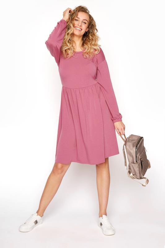 LTS Pink Smock Dress