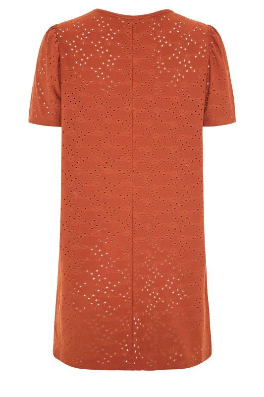 LTS Rust Broidery Puff Sleeve Top_BK.jpg