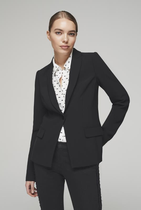 Tall Jackets KARL LAGERFELD Black Suit Jacket