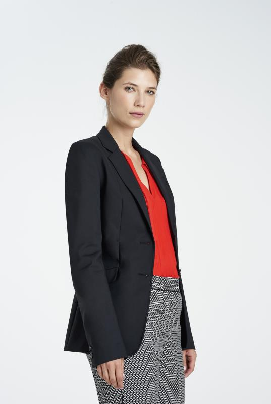 Clean Sharp Longline Suit Jacket