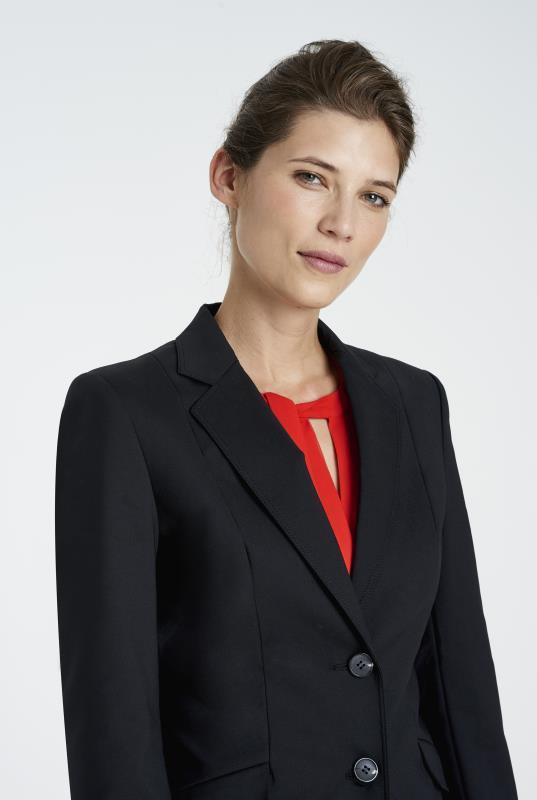 Clean Sharp Longline Suit Jacket