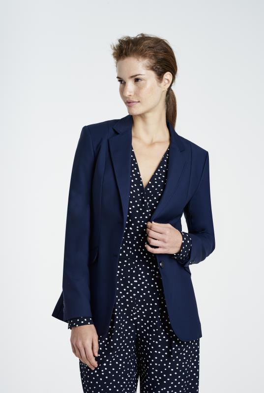 Tall Jackets Navy Clean Sharp Longline Suit Jacket