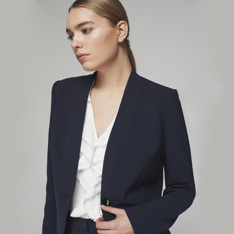 KARL LAGERFELD Navy Suit Jacket