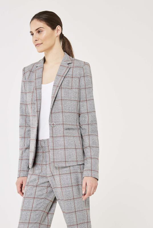 Premium Check Suit Jacket