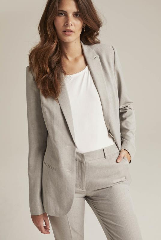 Tall Jackets Grey Tailored Suit Jacket