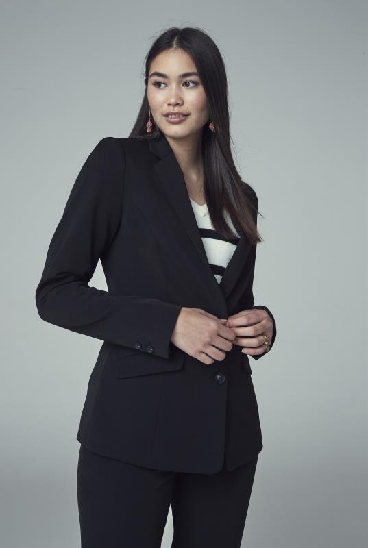 Mix and Match Longline Suit Jacket