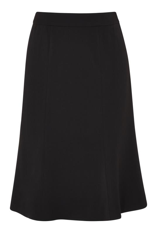 Black Flippy Suit Skirt