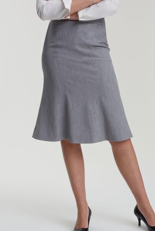 Black Flippy Suit Skirt