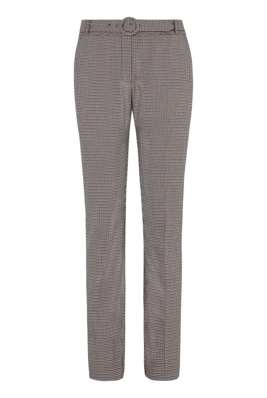 Beige Mini Check Slim Suit Trouser_8.jpg