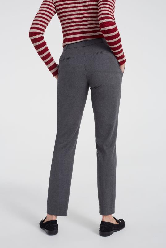 Luxe Flannel Suit Slim Leg Trouser