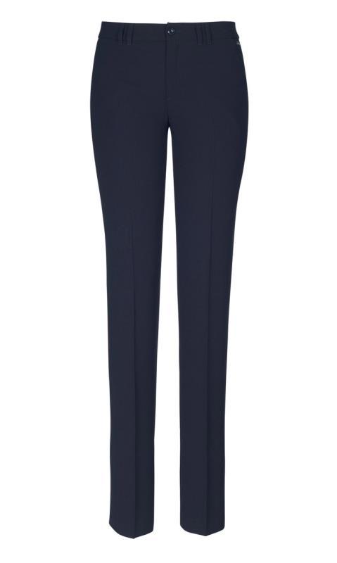 Crepe Slim Leg Trouser