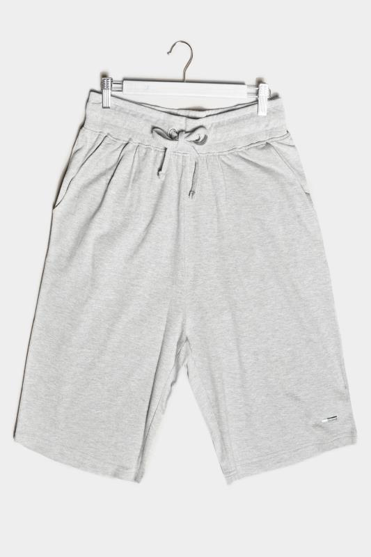 BadRhino Grey Marl Essential Jogger Shorts