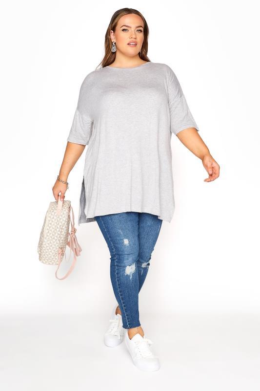 Grey Marl Oversized T-Shirt_B.jpg