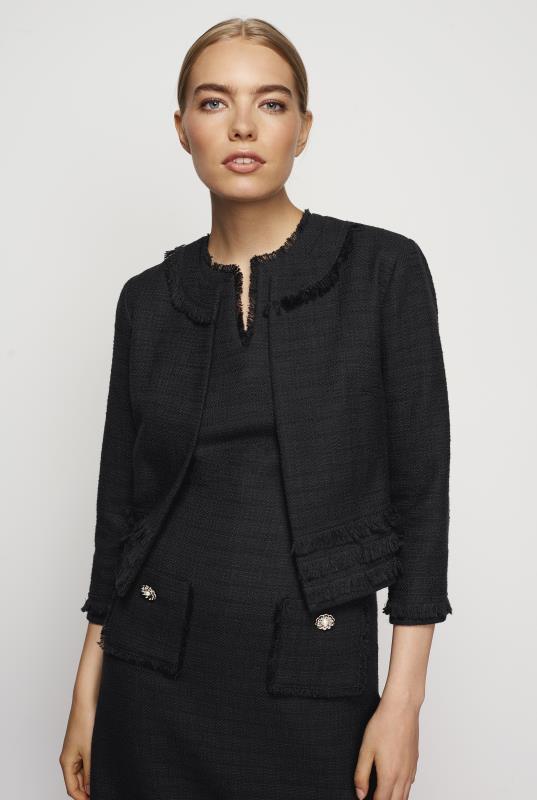 Karl Lagerfeld Paris Tweed Jacket