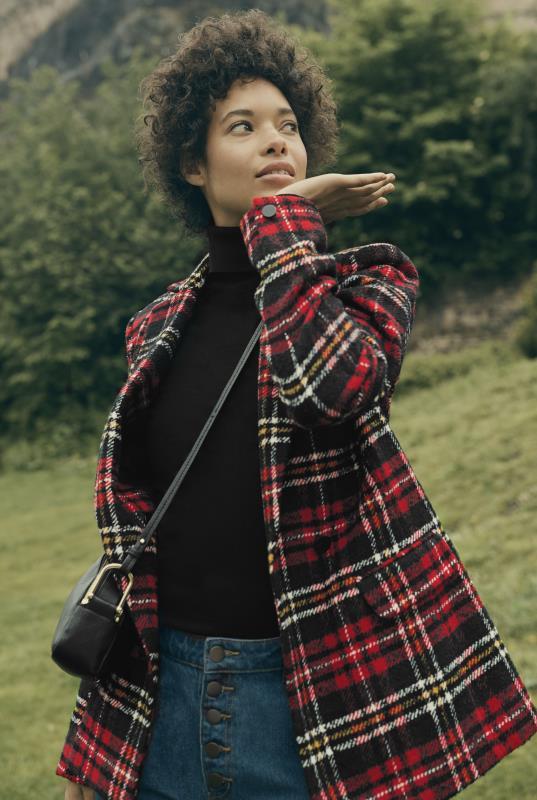 Tweedy Tartan Jacket